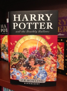 Because reading the new Harry Potter book at home would interfere with valuable jigsaw puzzle time.