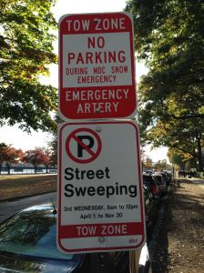 Street parking is complex in Boston.