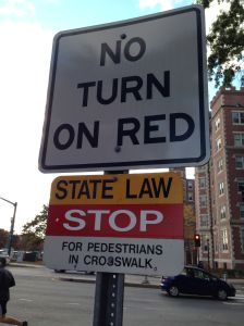 I tried to turn on a red and was almost arrested under a state-level statute.