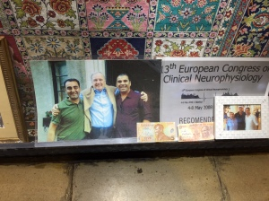 or the Surplusinator as I like to call him. Does Paul Martin know his likeness is being used to sell carpets in Turkey? Would he be surprised? What's his cut? The sales guy won't say.
