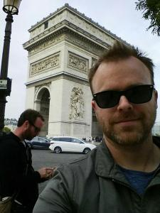 Arc de Triomphe - My english language spellchecker had a lot of problems with this one.