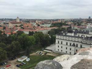 The City of Vilnius (view from the Castle)