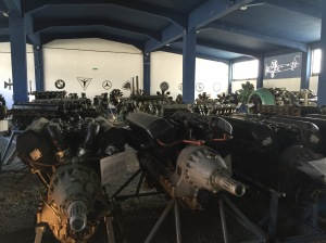 They had an amazing collection of different engines.